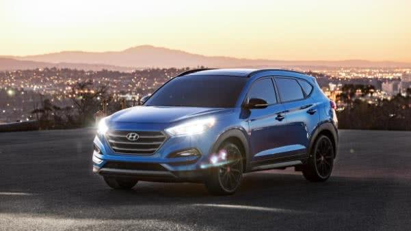 Hyundai Tucson 2017 Night edition