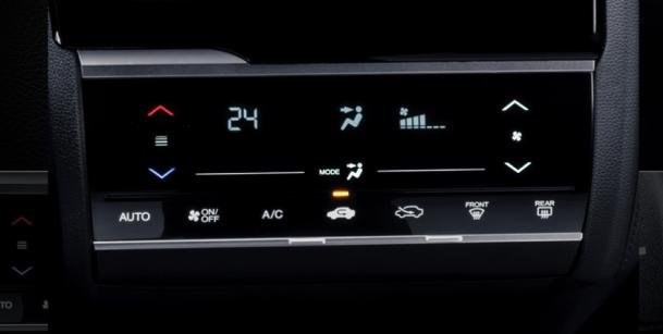Honda Jazz 2018 automatic climate control