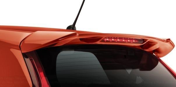 Honda Jazz 2018 rear spoiler