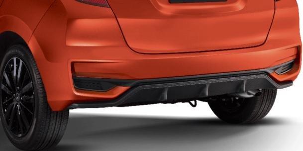 Honda Jazz 2018 rear bumper