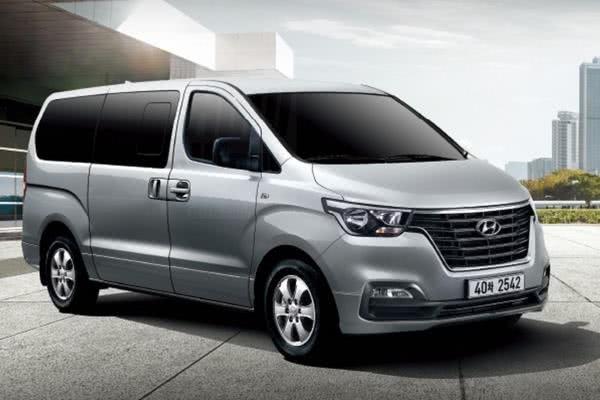 Hyundai Grand Starex 2018 facelift angular front