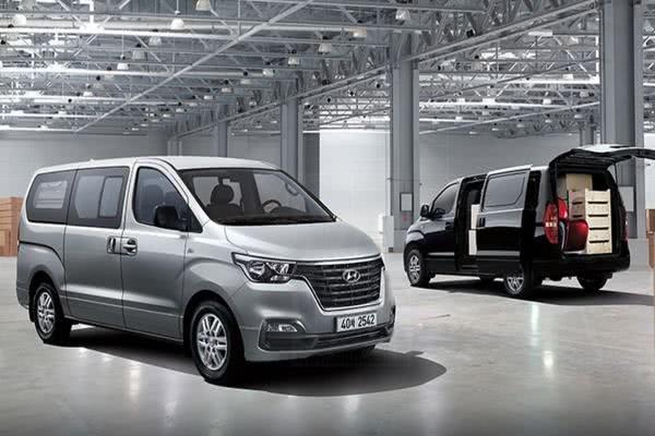 2 models of Hyundai Grand Starex 2018 facelift