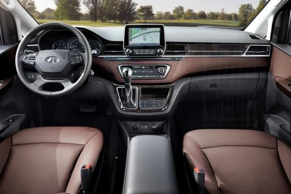 Hyundai Grand Starex 2018 facelift dashboard