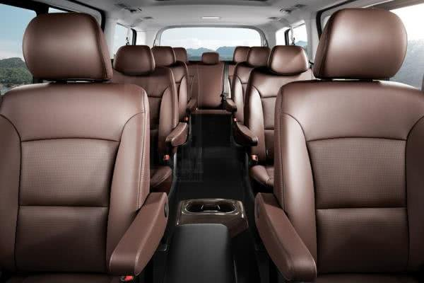 Hyundai Grand Starex 2018 facelift seating