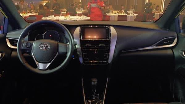 Toyota Yaris 2018 cabin