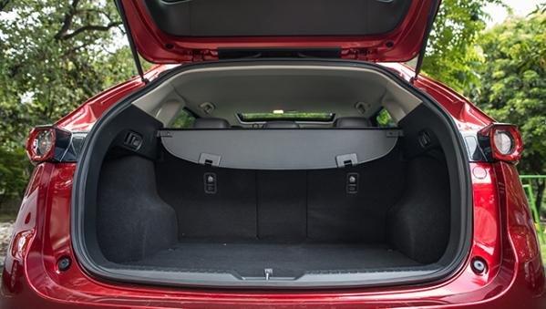 Mazda CX-5 2018 cargo trunk