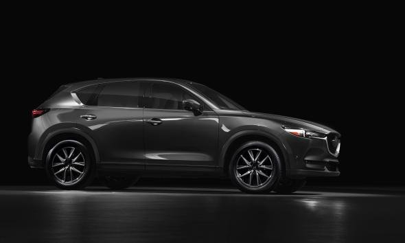 Mazda CX-5 2018 side view