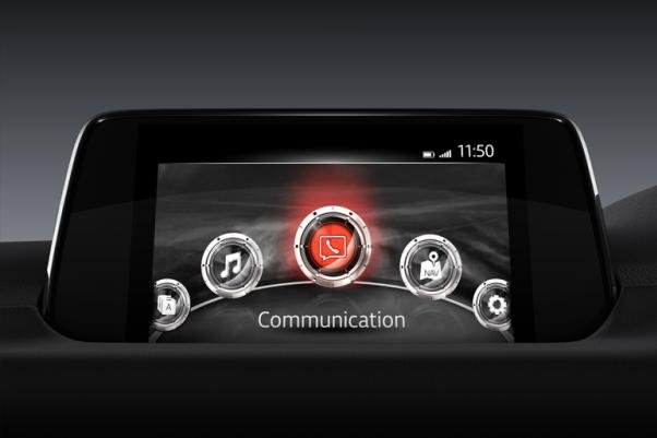 Mazda CX-5 2018 touchscreen