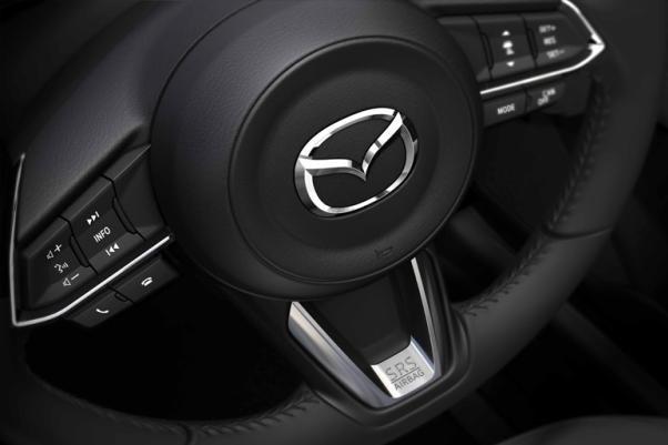 Mazda CX-5 2018 steering wheel