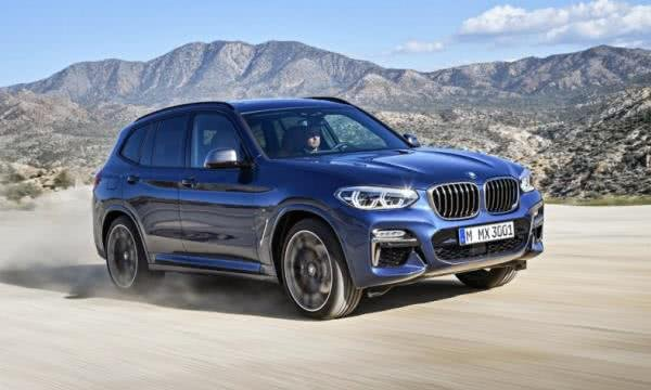 BMW X3 2018 outdoor