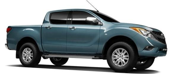 Mazda BT-50 2018 side view