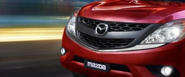 Mazda BT-50 2018 front grille
