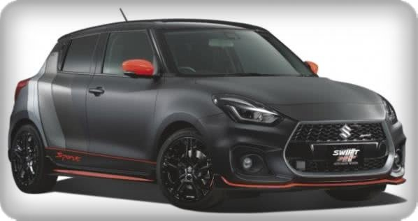 Suzuki Swift Sport 2018 Matte black