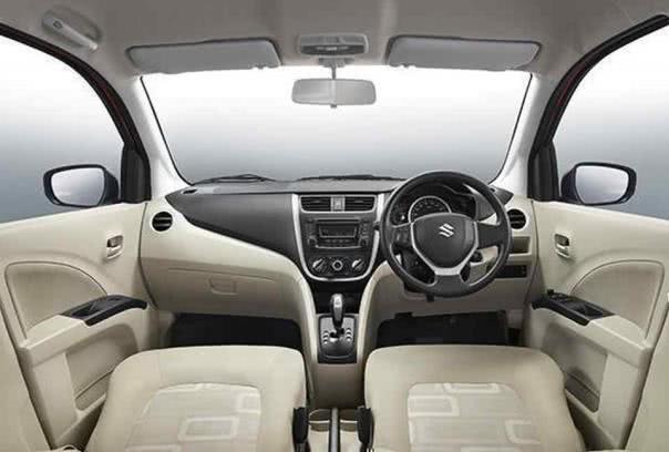 Suzuki Celerio 2018 facelift cabin