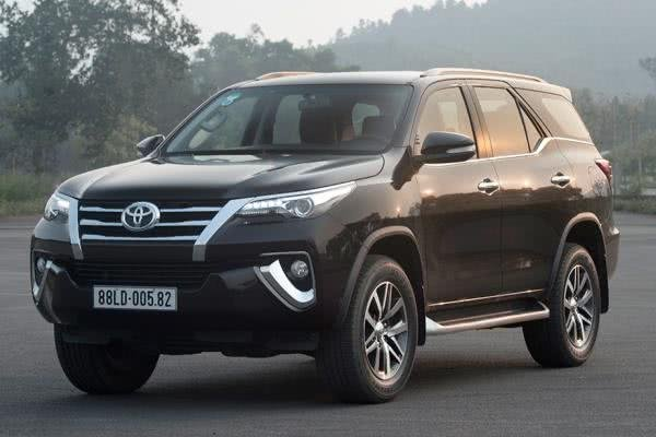 Toyota Fortuner 2018 front fascia