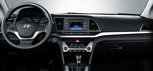 Hyundai Elantra 2018 Interior. Hyundai Turns Its Focus On Other Unimportant  Areas Like Legible Analogue Gauges As Well As Nice Controls And Buttons