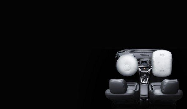 Hyundai Elantra 2018 airbags