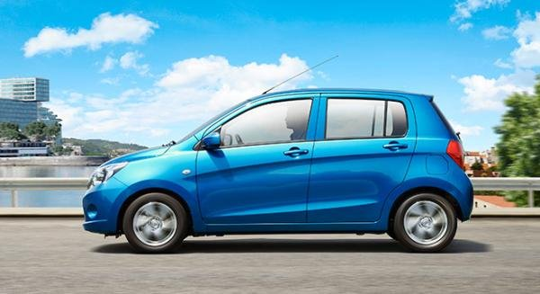 Suzuki Celerio 2018 side view