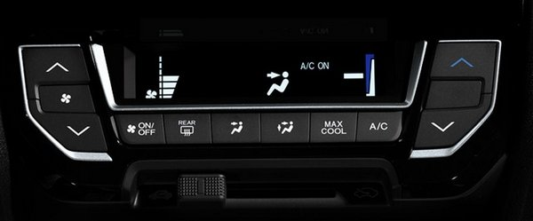 Honda Mobilio 2018 air conditioning system