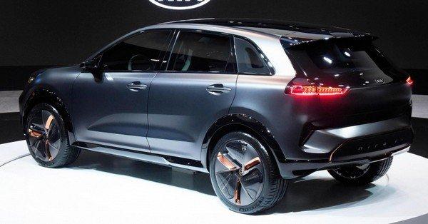Kia Niro EV Concept at 2018 CES