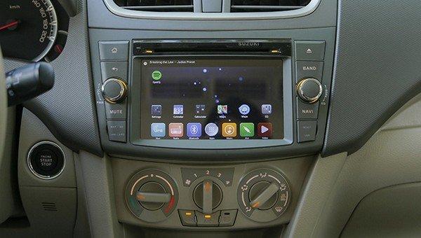 Suzuki Ertiga 2017 touchscreen