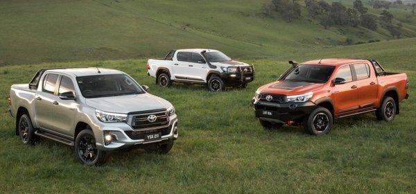 Toyota Hilux facefilt 2018 models