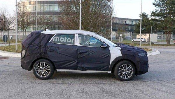 Hyundai Tucson 2019 facelift side