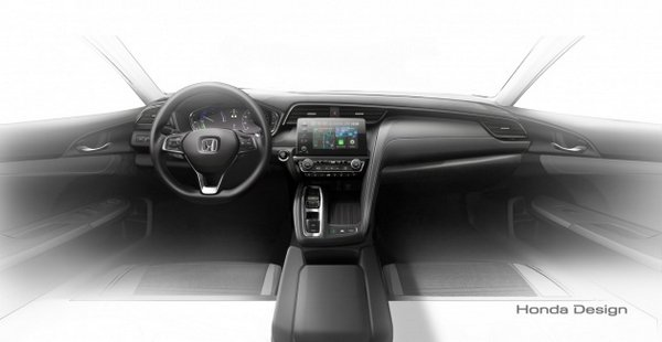 Honda Insight Hybrid 2019 interior