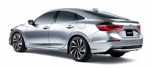Honda Insight Hybrid 2019 angular rear