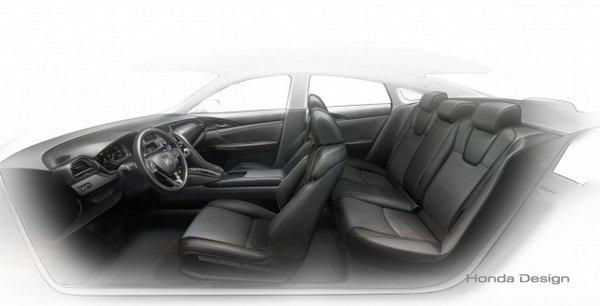 Honda Insight Hybrid 2019 seating