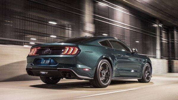 Ford Mustang Bullitt 2019 angular rear