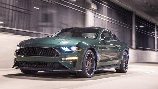 Ford Mustang Bullitt 2019 angular front