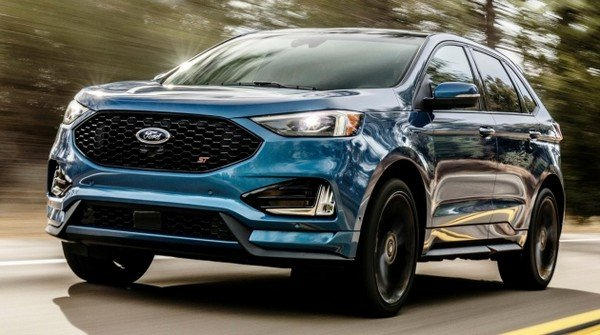 Ford Edge St Comes Adorned With A Large Mesh Grille At The Front