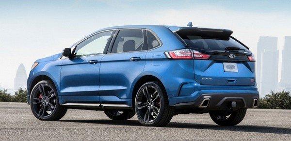 Ford Edge 2019 ST angular rear