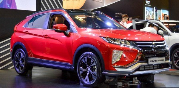 Mitsubishi Eclipse Cross 2018 angular front
