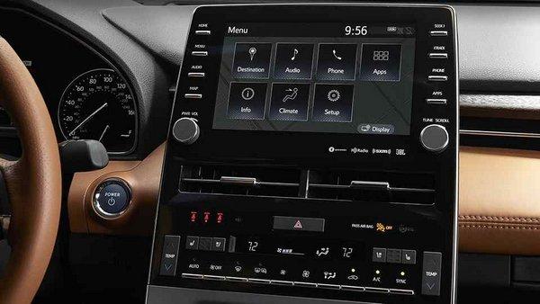 Toyota Avalon 2019 touchscreen