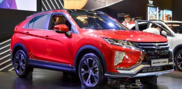 Angular front Mitsubishi Eclipse Cross