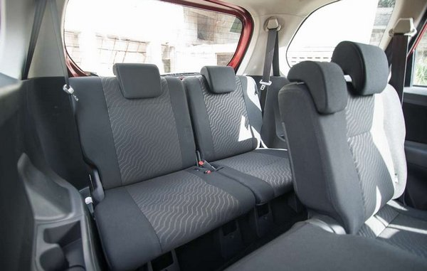 Toyota Avanza 2018 seating