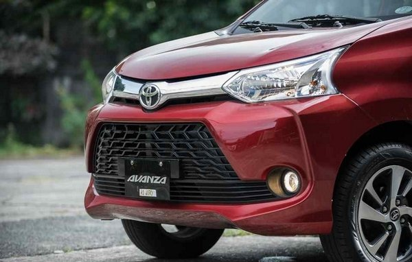 Toyota Avanza 2018 front end