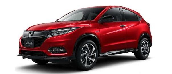 Honda HR-V 2018 facelift leaked photo
