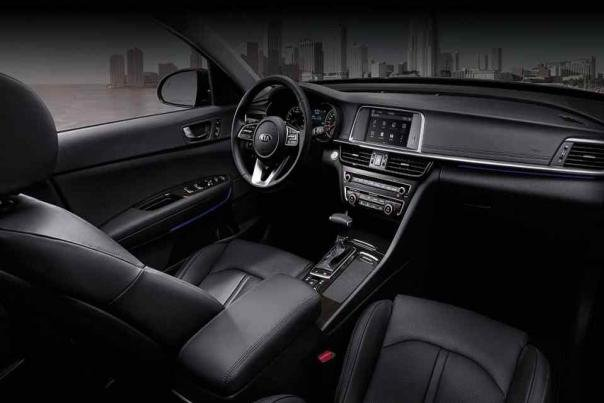 Kia Optima 2018 's interior