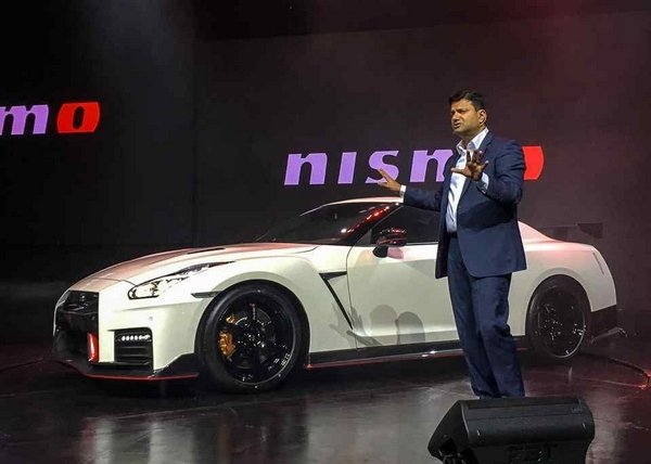 Nissan GT-R NISMO 2018 at its launch