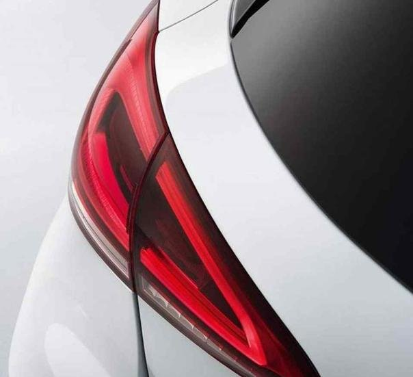 the 2-piece taillight of the Mercedes-Benz A Class 2018