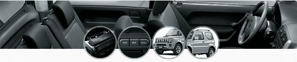 Suzuki Jimny 2017 features