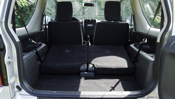 Suzuki Jimny 2017 cargo space