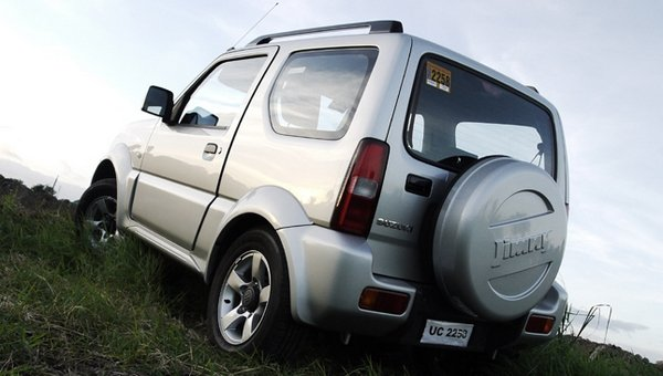 Suzuki Jimny 2017 angular rear