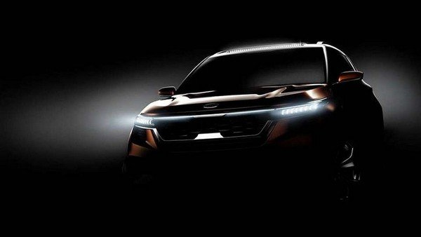 Kia SP Crossover Concept front fascia