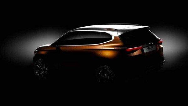 Kia SP Crossover Concept angular rear