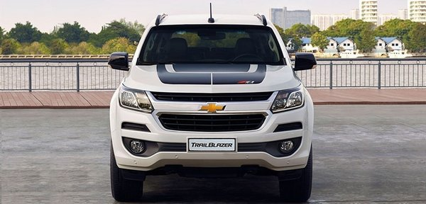 Chevrolet Trailblazer 2018 front view