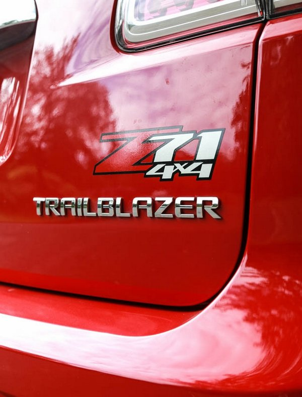Chevrolet Trailblazer 2018 Z71 graphics